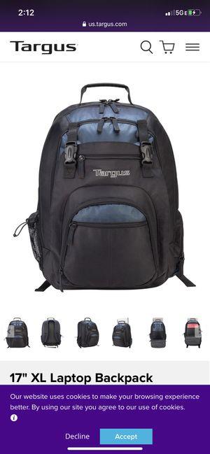 TARGUS laptop backpack for Sale in Modesto, CA