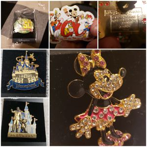 Disney collectible pins for Sale in Antioch, CA