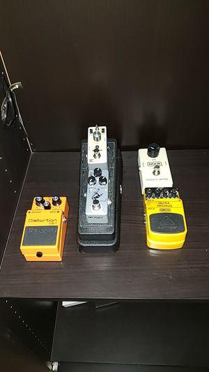 Guitar pedals for Sale in El Monte, CA