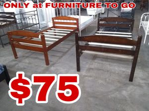 Twin bed $60 sale Tuesday 😎 2759 Irving Blvd Dallas 75207😎 for Sale in Dallas, TX