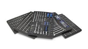 Kobalt 300-Piece Standard (SAE) and Metric Polished Chrome Mechanic's Tool Set for Sale in Addison, IL