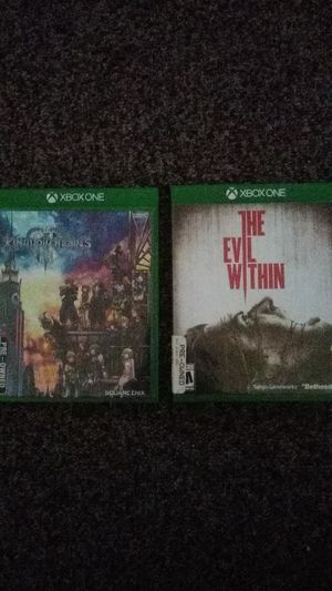 Kingdom heart 3, The Evil Within. for Sale in Pasadena, CA
