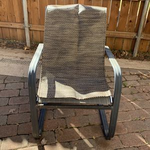 Canvas Outdoor Chairs for Sale in Mansfield, TX
