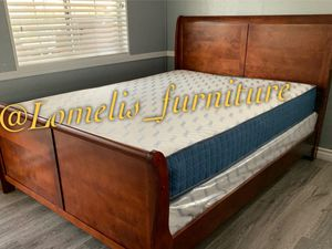 Cal king size beds with Mattress included for Sale in Placentia, CA