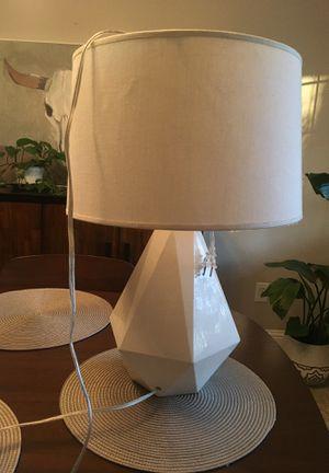 White lamp for Sale in Stockton, CA