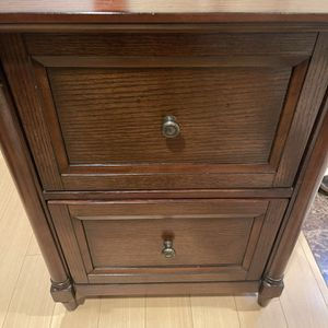 Costco Solid Wood Filing And Storage Cabinet for Sale in Upland, CA