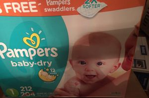 Pampers diapers for Sale in Columbus, OH