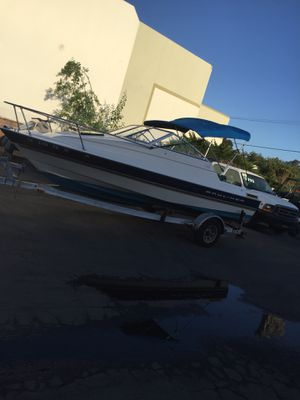 19 foot Bayliner with galvanized trailer for Sale in Carlsbad, CA