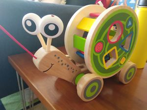 Hape Shape Sorter and Pull Toy for Sale in Alexandria, VA