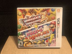Puzzle & Dragons Z & Puzzle & Dragons Super Mario Bros. Edition for Sale in Beaverton, OR