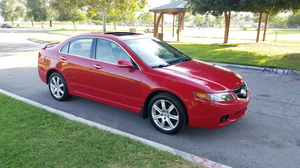 2005 Acura TSX Red COMPLETE PART OUT 04-08 OEM Parts ! for Sale in San Bernardino, CA