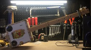 3 sting handmade cigar box slide guitar!!! for Sale in Grottoes, VA