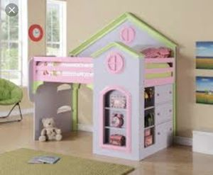 girls single or bunk bed for Sale in Sanger, CA