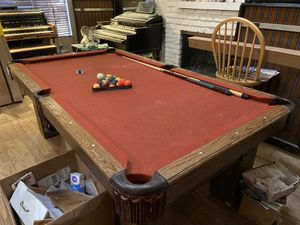 7x4 pool table for Sale in Diamond Bar, CA
