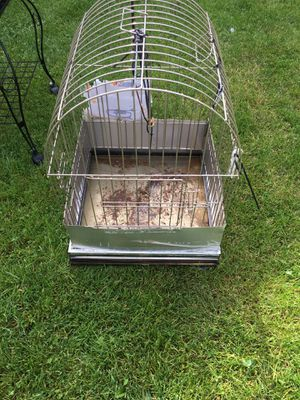 Bird Cage has a opening on the sides for a bird mating box for Sale in Dearborn, MI