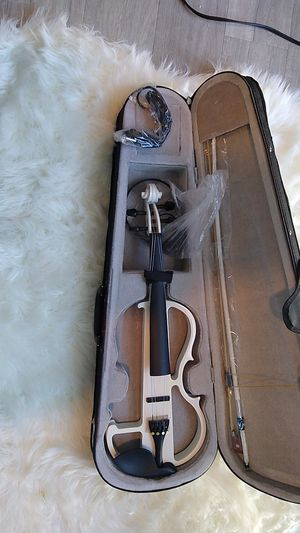 Electric violin never used for Sale in Seattle, WA