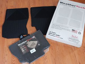 WeatherTech W72-W70 All- Weather Floor Mats/NEW for Sale in EASTAMPTN Township, NJ