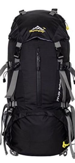 HWJIANFENG 45L+5L Backpack for Outdoor Sports Hiking Cycling Traveling Running - on Ebay for $120 for Sale in Los Angeles,  CA