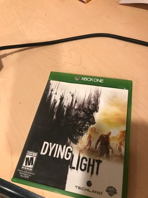 Dying light Xbox one for Sale in Rancho Santa Margarita, CA