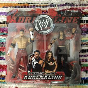 WWE TWO PACK - MATT HARDY AND LITA ACTION FIGURES for Sale in Irvine, CA