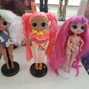 3 LOL OMG Dolls for Sale in National City, CA