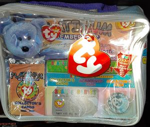TY Beanie Babies platinum Club Collectible for Sale in Layton, UT