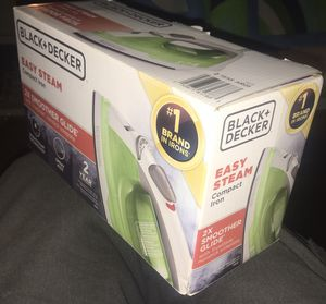 Black & Decker Easy Steam Compact Iron for Sale in Beaverton, OR