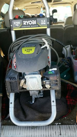 Roybe pressure washer 2700 for Sale in St. Louis, MO