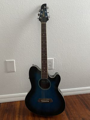 Ibanez acoustic guitar like new with a guitar bag case for Sale in Land O Lakes, FL