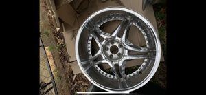 "22"" inch Rims Set For sale Need Go ASSAP Hablo español for Sale in Fort Washington, MD"