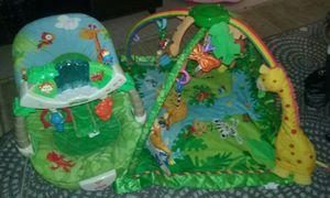2 piece Fisher Price, rainforest set for Sale in Boston, MA