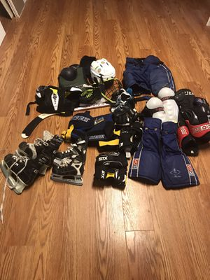 Various hockey equipment for Sale in GERMANTWN HLS, IL