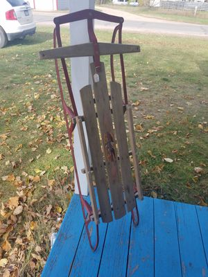 Vintage Flexible Flyer runner sled for Sale in Pine River, MN