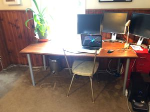 Large desk/ drawing table for Sale in Silver Spring, MD