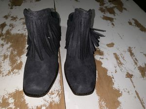 Gray Fringe Mules!!! for Sale in Cary, NC