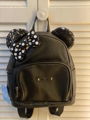 Sequined Ear Minnie Mouse Backpack for Sale in Hinesville, GA