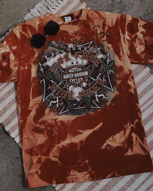 Vintage bleached Harley Davidson t shirt for Sale in Greenbrier, TN