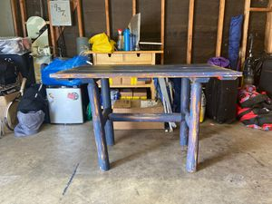 Vintage Blue Wooden Table! for Sale in San Diego, CA