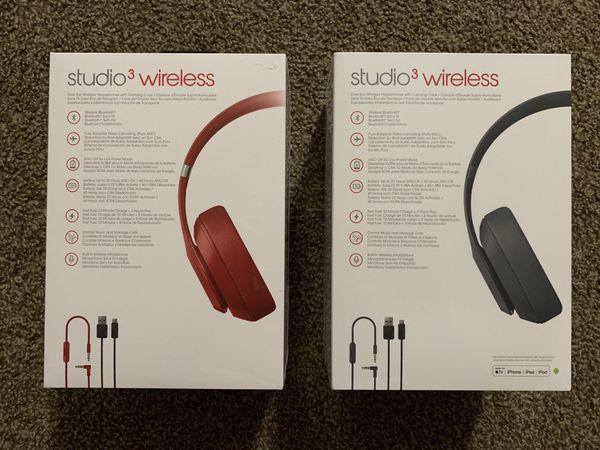 Beats Studio 3 Wireless Brandnew