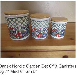 Dansk Nordic Garden Set for Sale in Brooklyn, NY