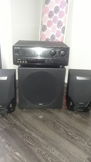 Pioneer stereo system and Amp for Sale in Atlanta, GA