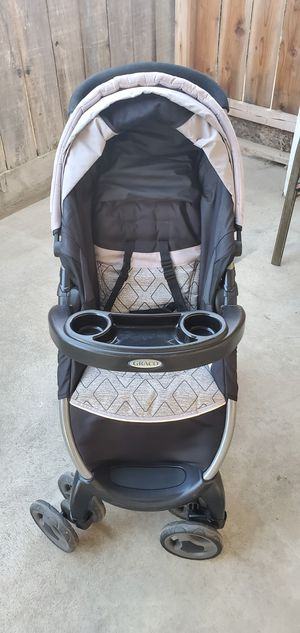 Graco Click Connect FastAction Fold Stroller for Sale in Clovis, CA