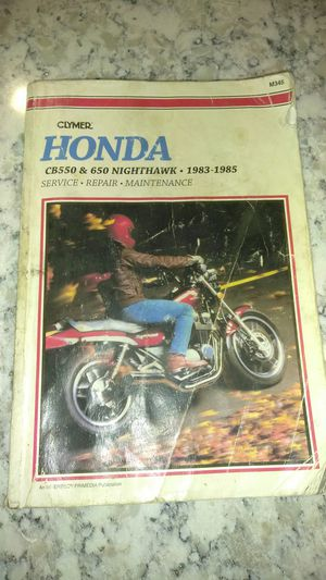 Honda motorcycle's Clymer manual. for Sale in Phoenix, AZ