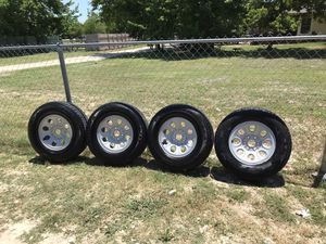 17 Inch Chevy And GMC rims and tires for Sale in Manor, TX
