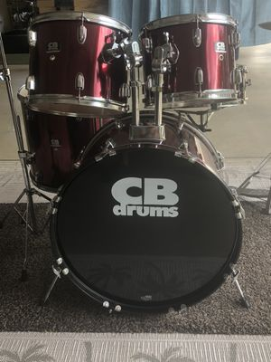 Drum Set, 5 Piece for Sale in Middletown, CT
