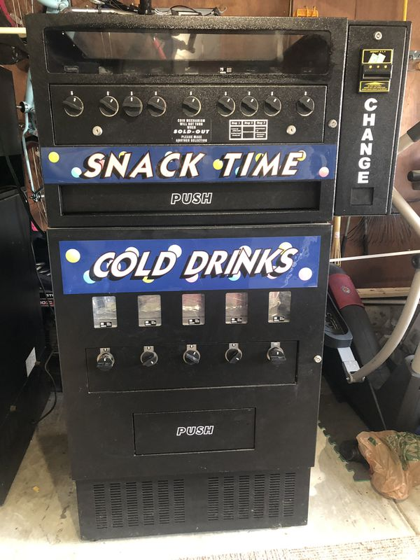 I need to clear out my garage. I have 2 Machines Vending Ready, other one can be used for parts. $100 each please take away, however I have lost the