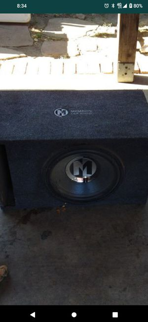 15 inch sub single coil for Sale in Milpitas, CA