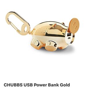 Chubbs gold pig portable charger for Sale in Manassas, VA
