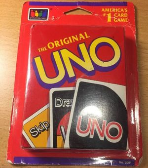 Vintage Sealed UNO Cards for Sale in Chicago, IL