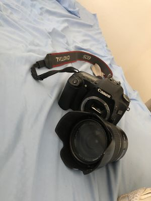 Canon E0s 30D with lens for Sale in Homestead, FL